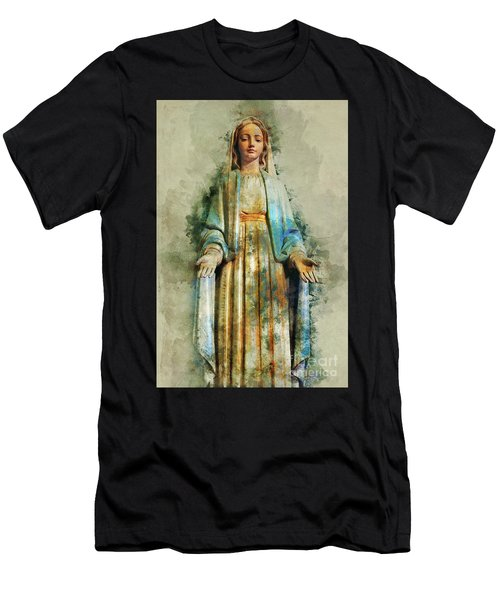 The Virgin Mary Men's T-Shirt (Athletic Fit)