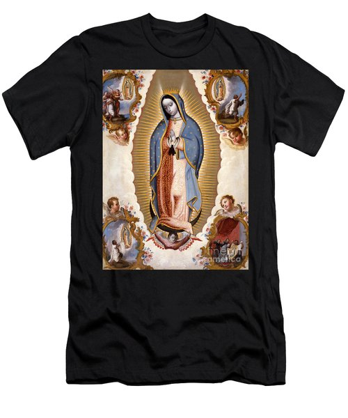 The Virgin Of Guadalupe  Men's T-Shirt (Athletic Fit)