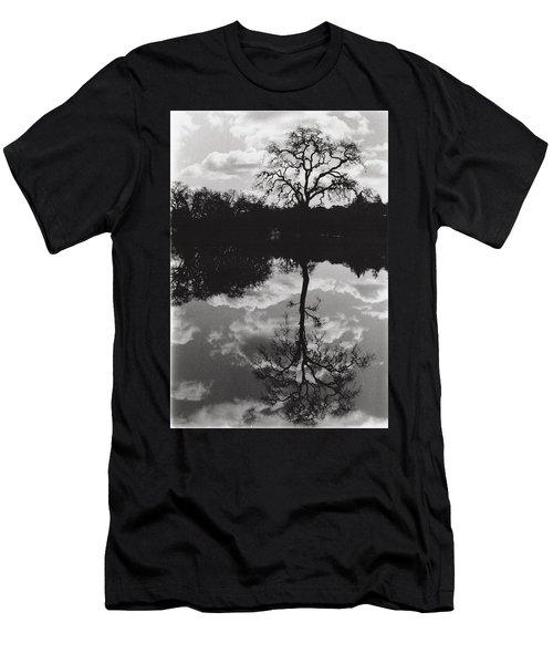 Tree Reflection Sebastopol Ca, Men's T-Shirt (Athletic Fit)