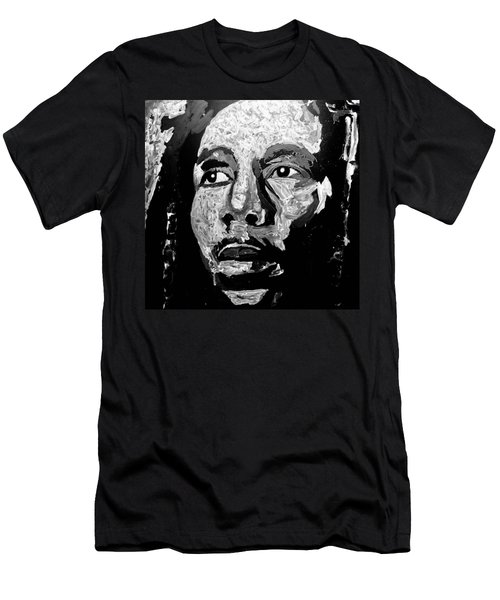 Tribute To Bob Marley Men's T-Shirt (Athletic Fit)