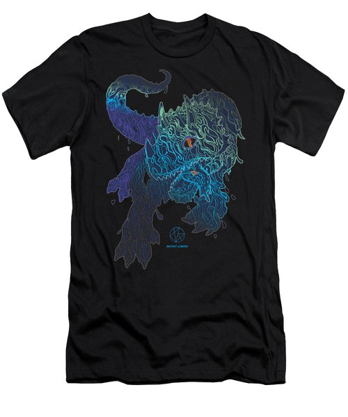 Triceratrippin Men's T-Shirt (Slim Fit) by Jordan Kotter