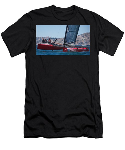 Upwind Spray Men's T-Shirt (Athletic Fit)