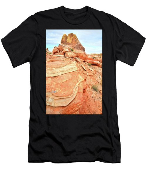 Valley Of Fire High Country Men's T-Shirt (Athletic Fit)