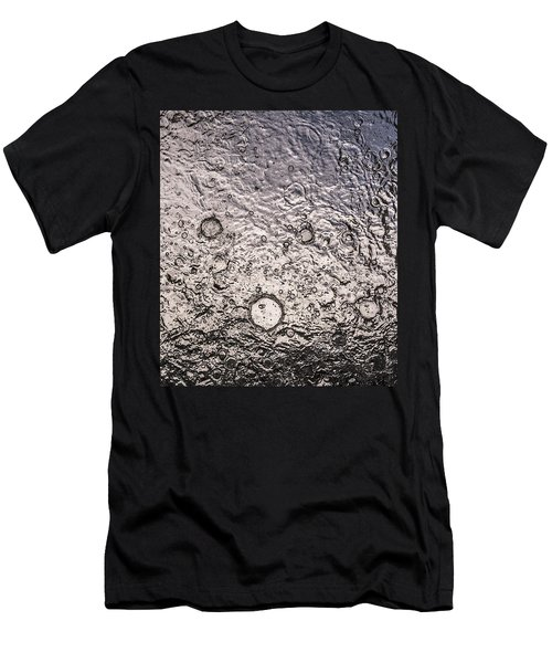 Water Abstraction - Liquid Metal Men's T-Shirt (Athletic Fit)