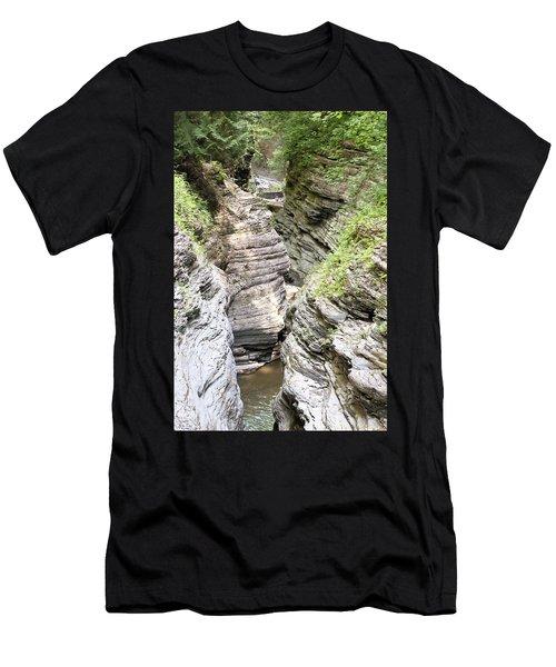 Watkins Glen New York Men's T-Shirt (Athletic Fit)