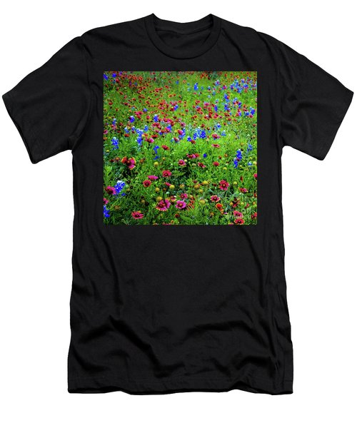 Wildflowers In Bloom Men's T-Shirt (Athletic Fit)