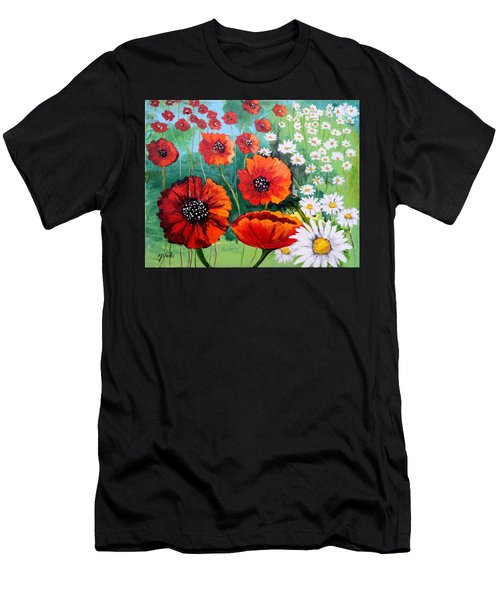 #20 Spring And Summer Floral Series 4875x3804 Men's T-Shirt (Athletic Fit)