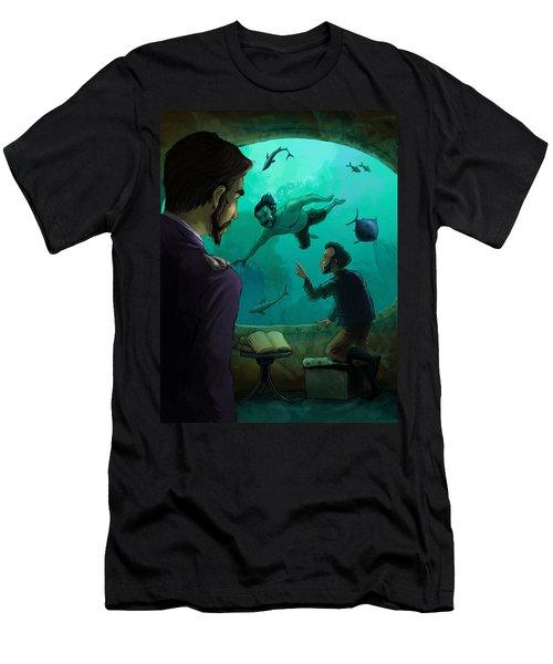20000 Leagues Under The Sea Men's T-Shirt (Athletic Fit)