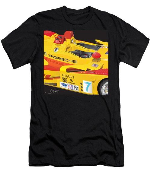2008 Rs Spyder Illustration Men's T-Shirt (Slim Fit) by Alain Jamar