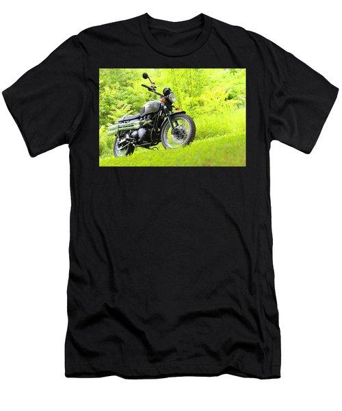 2013 Triumph Scrambler Men's T-Shirt (Athletic Fit)