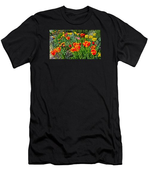 2015 Acewood Tulips 1 Men's T-Shirt (Athletic Fit)