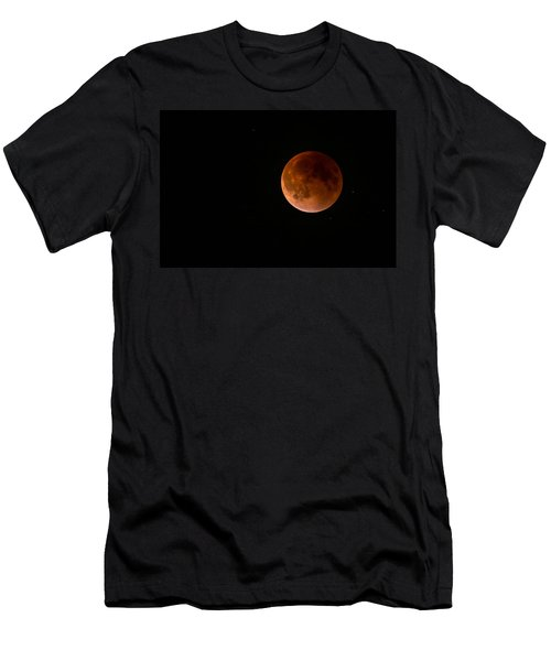 2015 Blood Harvest Supermoon Eclipse Men's T-Shirt (Athletic Fit)