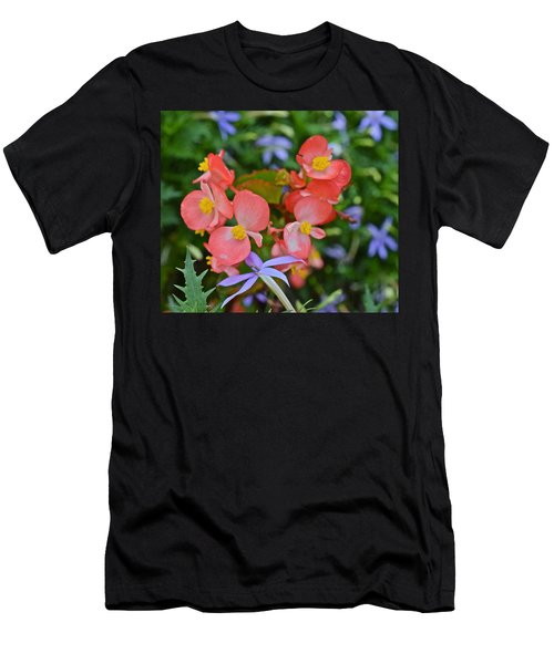 2015 Mid September At The Garden Begonias 2 Men's T-Shirt (Athletic Fit)