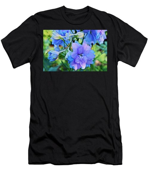 2015 Mid September At The Garden Larkspur 2 Men's T-Shirt (Athletic Fit)