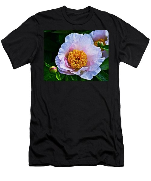 2015 Spring At The Garden White Peony  Men's T-Shirt (Athletic Fit)