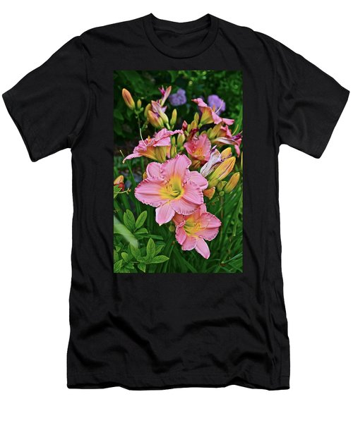 2015 Summer At The Garden Daylilies 1 Men's T-Shirt (Athletic Fit)