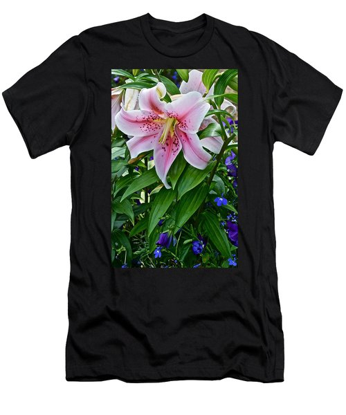2015 Summer At The Garden Event Garden Lily 3 Men's T-Shirt (Athletic Fit)