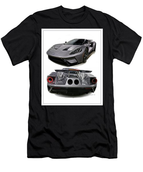 2016 Ford Gt Men's T-Shirt (Athletic Fit)