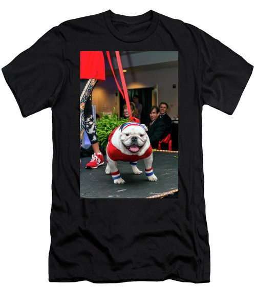 Men's T-Shirt (Slim Fit) featuring the photograph 20160806-dsc03998 by Christopher Holmes