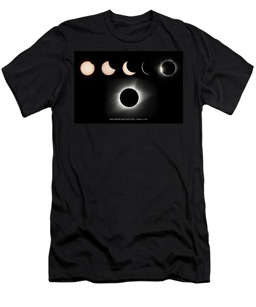 2017 Solar Eclipse Composite Men's T-Shirt (Athletic Fit)