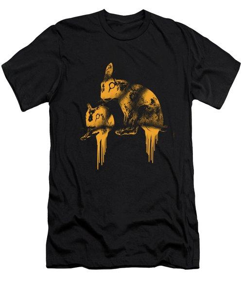 Paint Drips Men's T-Shirt (Athletic Fit)