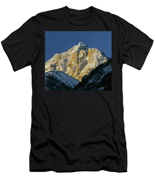 210418 Pyramid Peak Men's T-Shirt (Athletic Fit)