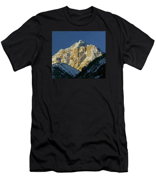 210418 Pyramid Peak Men's T-Shirt (Athletic Fit)
