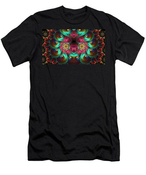 Fractal Men's T-Shirt (Athletic Fit)
