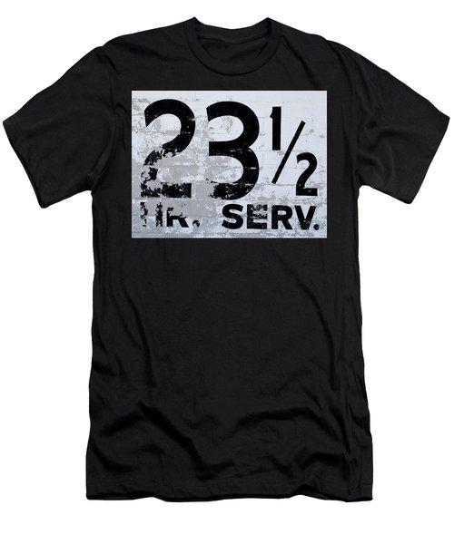 23 1/2 Hour Service Men's T-Shirt (Athletic Fit)