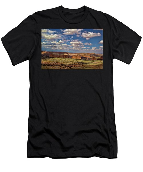 Capitol Reef National Park Catherdal Valley Men's T-Shirt (Athletic Fit)