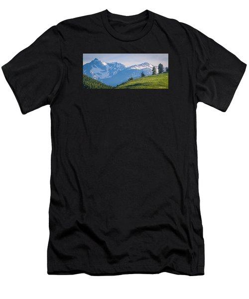 #238 - Spanish Peaks, Southwest Montana Men's T-Shirt (Athletic Fit)