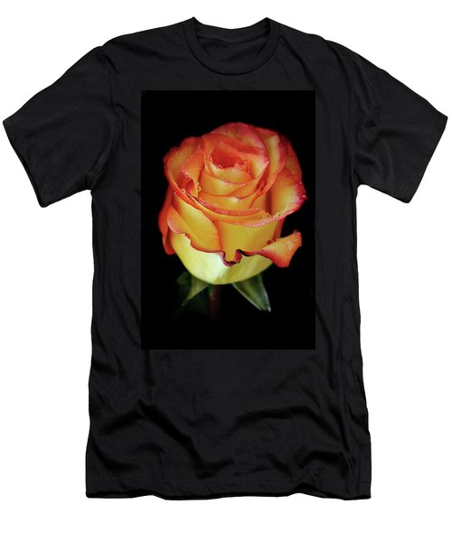 23rd Anniversary Rose Men's T-Shirt (Athletic Fit)