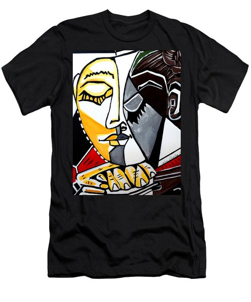 Picasso By Nora Fingers Men's T-Shirt (Athletic Fit)