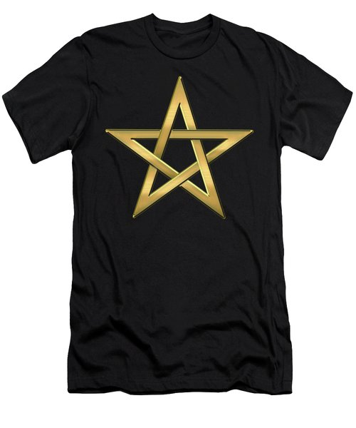 28th Degree Mason - Knight Commander Of The Temple Masonic  Men's T-Shirt (Slim Fit) by Serge Averbukh
