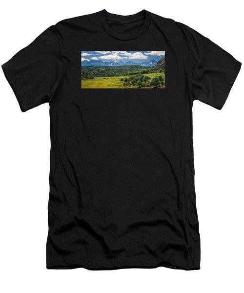 #2918 - Sneffles Range, Colorado Men's T-Shirt (Athletic Fit)