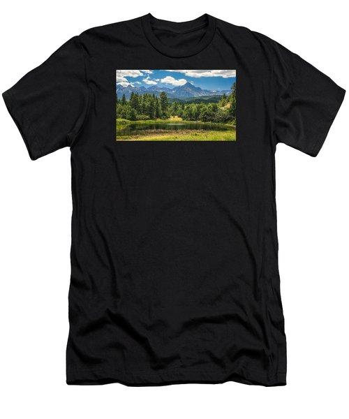 #2933 - Sneffles Range, Colorado Men's T-Shirt (Athletic Fit)