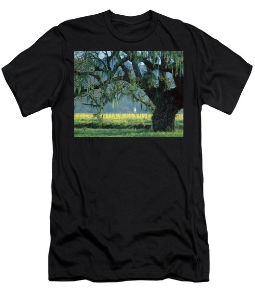 2b6319 Mustard In The Oaks Sonoma Ca Men's T-Shirt (Athletic Fit)