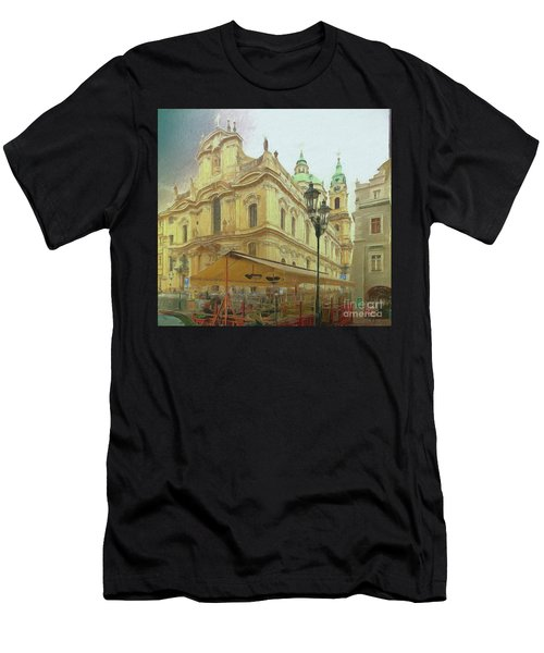 2nd Work Of St. Nicholas Church - Old Town Prague Men's T-Shirt (Athletic Fit)