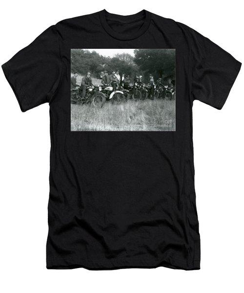 1941 Motorcycle Vintage Series Men's T-Shirt (Athletic Fit)