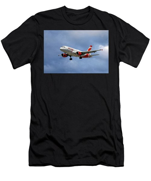 Air Canada Rouge Airbus A319 Men's T-Shirt (Athletic Fit)