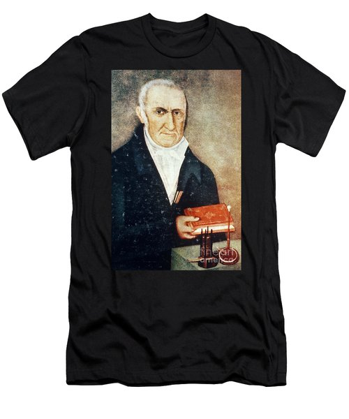 Alessandro Volta, Italian Physicist Men's T-Shirt (Athletic Fit)