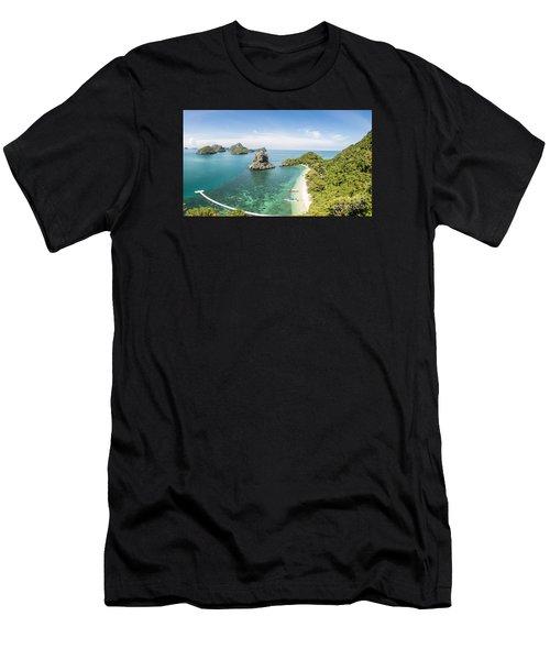 Ang Thong Marine National Park Men's T-Shirt (Athletic Fit)