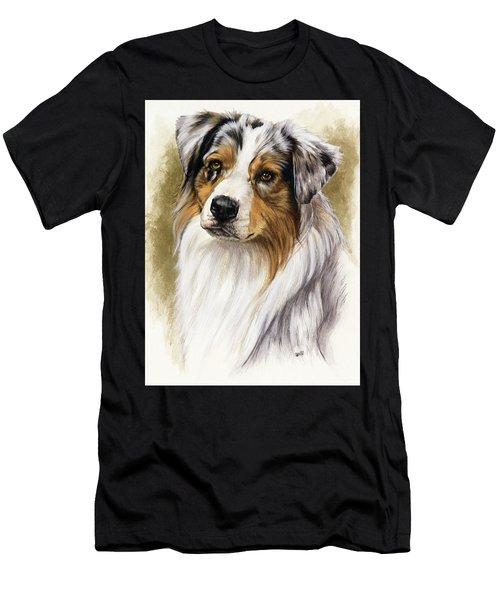 Australian Shepherd Men's T-Shirt (Athletic Fit)