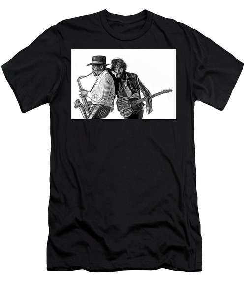 Bruce Springsteen Clarence Clemons Collection Men's T-Shirt (Athletic Fit)