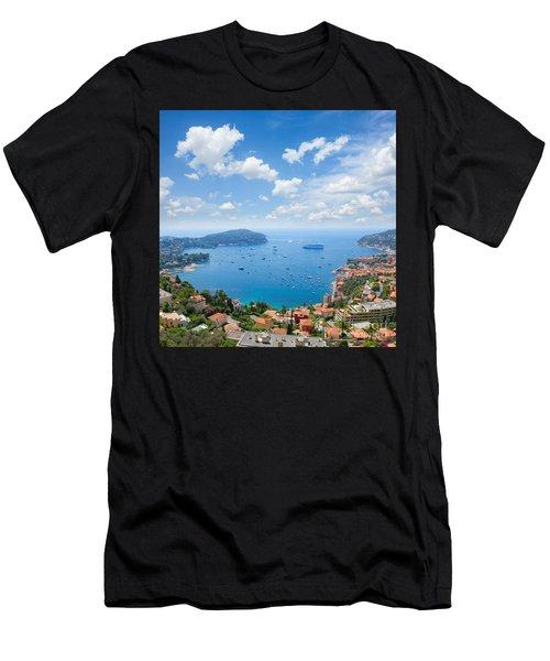 cote dAzur, France Men's T-Shirt (Athletic Fit)