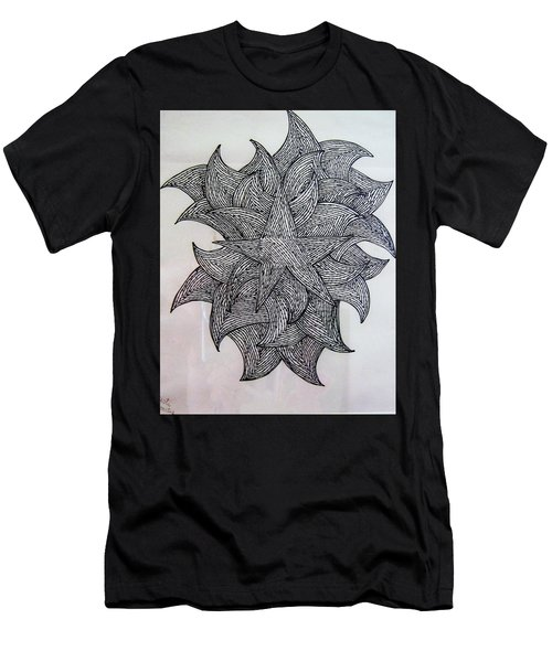 3 D Sketch Men's T-Shirt (Athletic Fit)