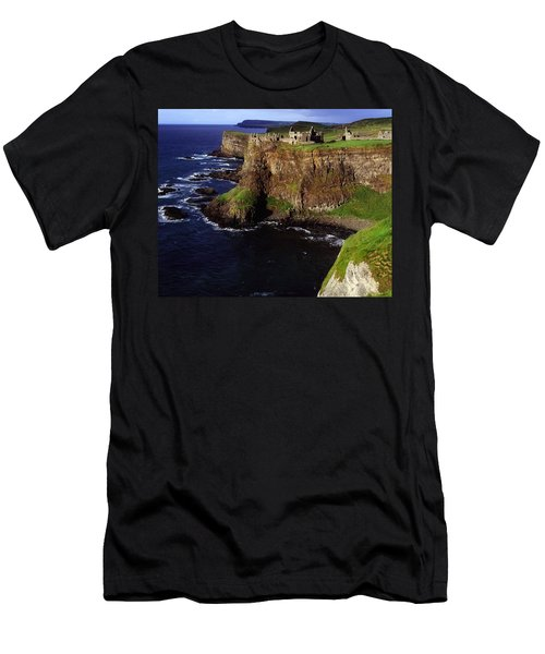 Dunluce Castle, Co. Antrim, Ireland Men's T-Shirt (Athletic Fit)