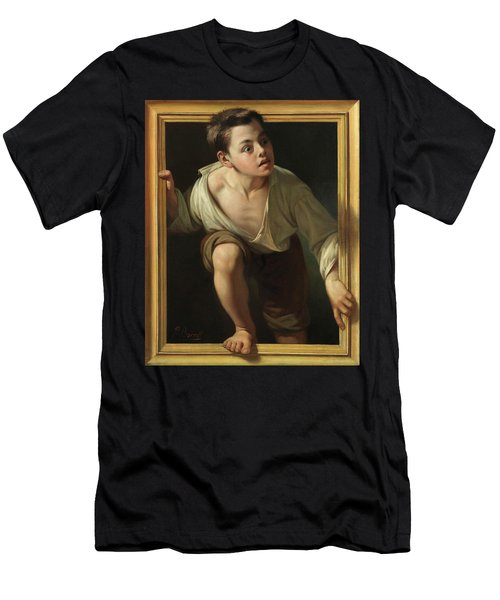 Escaping Criticism Men's T-Shirt (Athletic Fit)