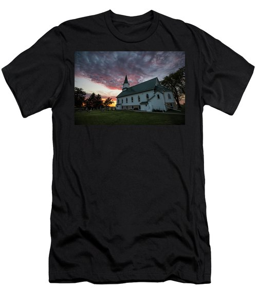 Men's T-Shirt (Athletic Fit) featuring the photograph Faith  by Aaron J Groen