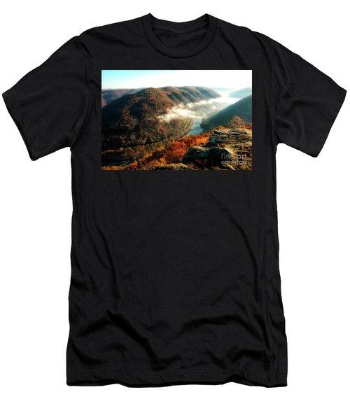 Grandview New River Gorge Men's T-Shirt (Athletic Fit)